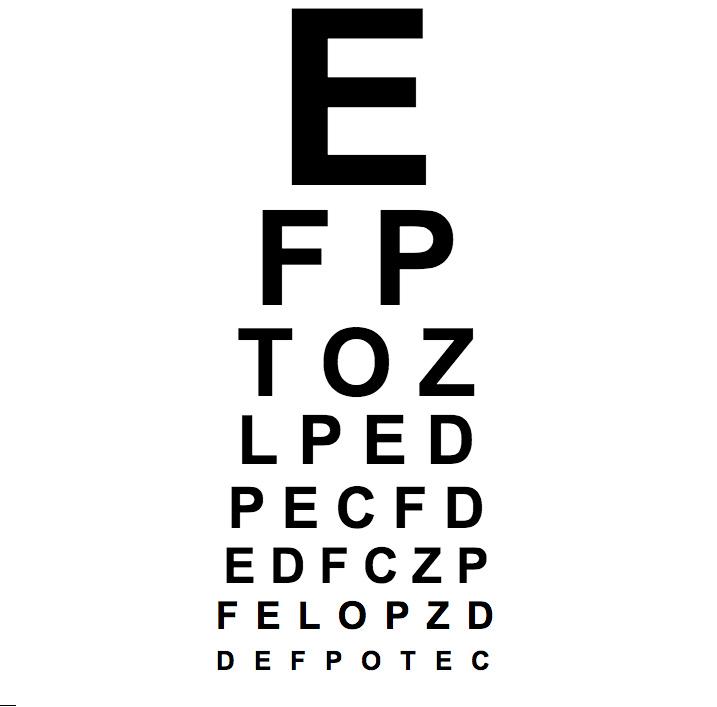 test visual optico